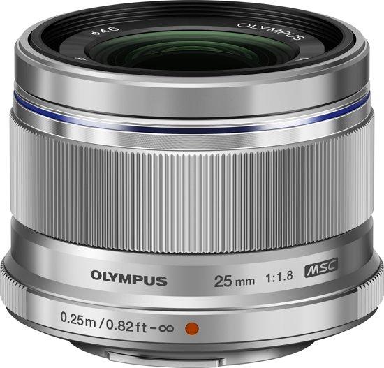 Olympus M.ZUIKO DIGITAL - 25mm 1:1.8 / ES-M2518 - Zilver
