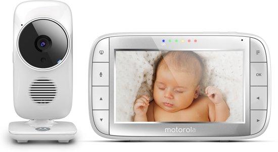 Motorola MBP-48 Babyfoon met camera 5.0