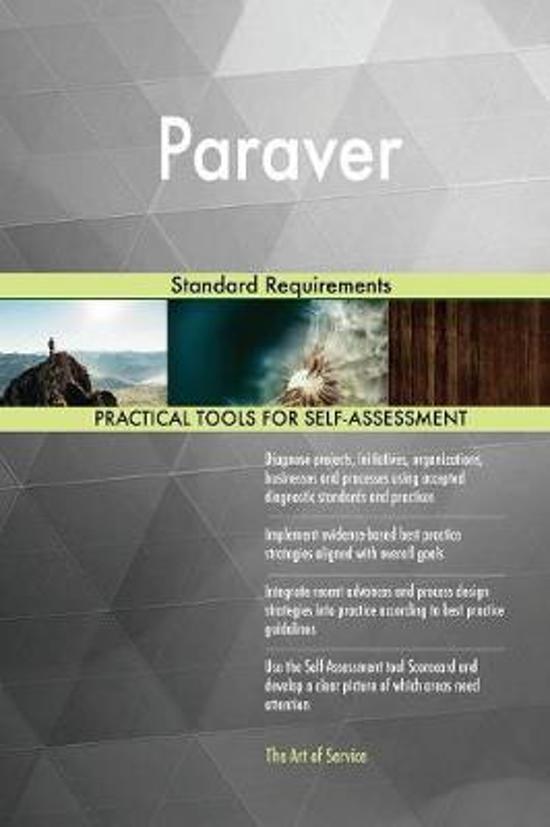 Paraver Standard Requirements