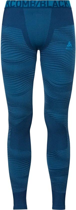 Odlo Suw Bottom Pant Performance Blackcomb Thermobroek Heren - Poseidon-Blue Jewel