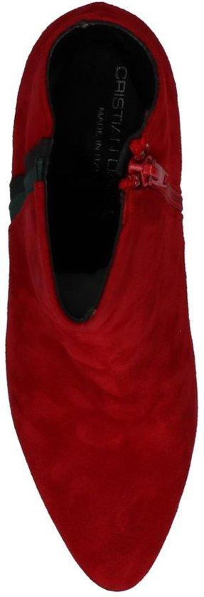 Rode Rode Daniel Enkellaarzen Daniel Cristian Cristian Enkellaarzen Pnk0wO
