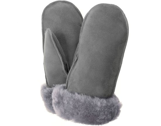 Warme wanten handschoenen van zacht IJslands lamsvacht