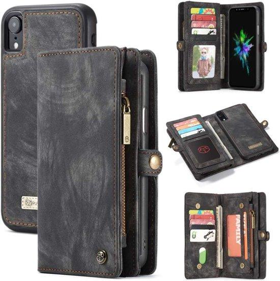 | CASEME Apple iPhone Xr Vintage Portemonnee Hoesje
