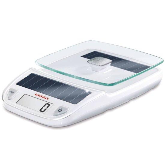 Soehnle Digitale keukenweegschaal Easy Solar White Wit 66183