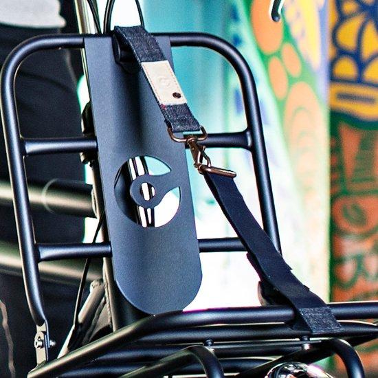 Cortina Kansas Luggage Belt Riem voordrager - Denim/Blauw