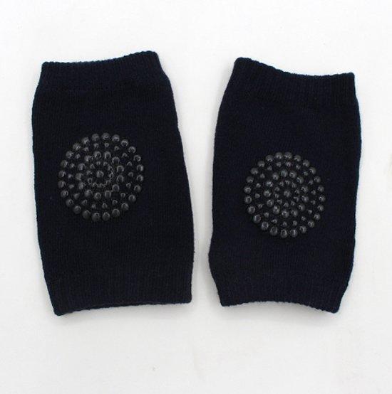 Kinder - baby kniebeschermers - Donker blauw - Knie Kruip Beschermers (2 paar)
