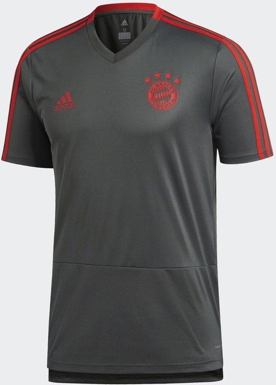 0eea8f53695 adidas Bayern Munchen Trainingsshirt 2018/2019 Heren - Utility Ivy Red -  Maat M