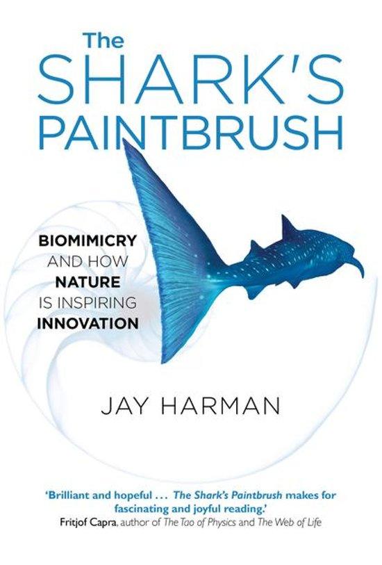 Boek cover The Sharks Paintbrush van Jay Harman (Onbekend)