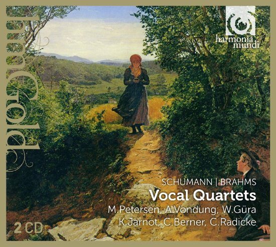 Schuman, Brahms: Vocal Quartets