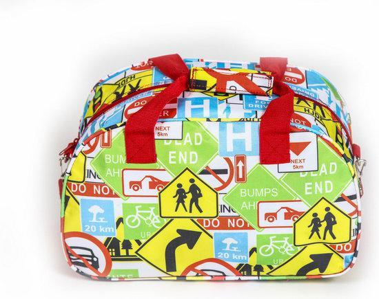Adventure Bags Verkeersborden Reistas Multi