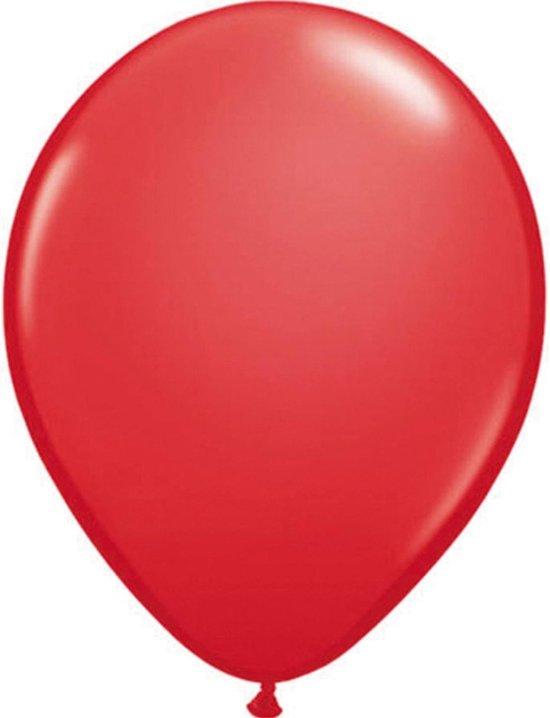 Qualatex ballonnen rood