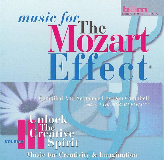 Music for The Mozart Effect Vol 3 - Unlock the Creative Spirit
