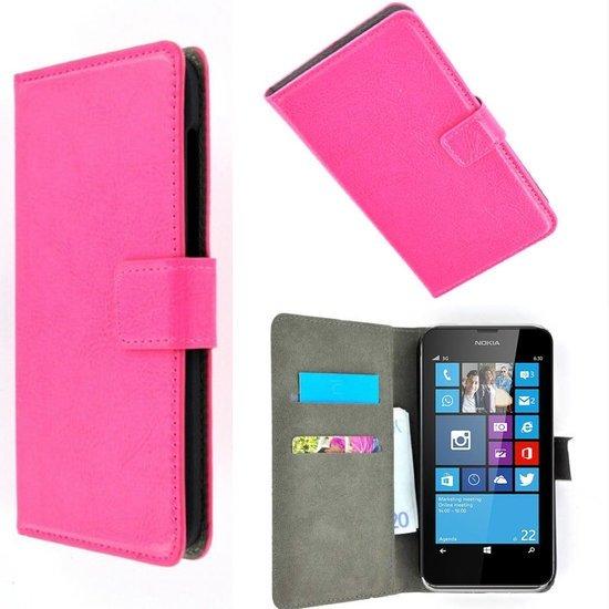Bibliothèque De Luxe Pour Microsoft Lumia 532 - Poudre Rose H1wFi4AkR7
