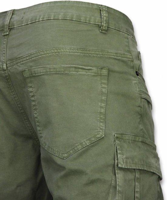 Pocket Biker Groen Maten Korte Fit Broek Heren Jeans Enos Slim 34 ZwYXx6gqg