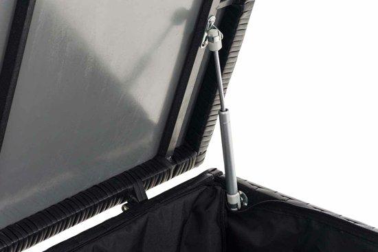 Kussenbox 150 Cm.Clp Comfy Kussenbox Zwart 125