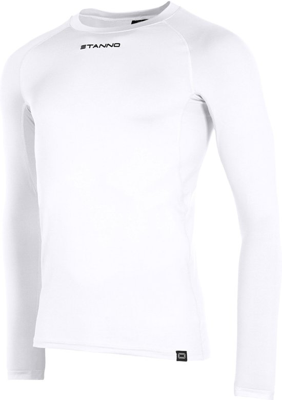 Stanno Functional Sports Thermo  Sportshirt performance - Maat S  - Unisex - wit