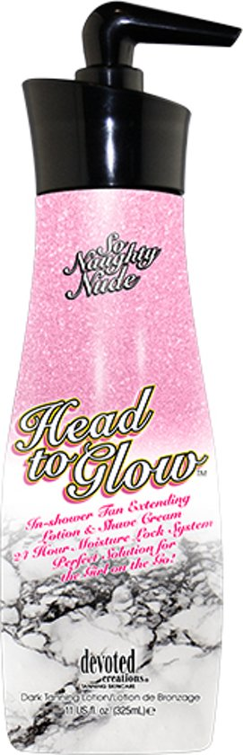 Devoted Creations So Naughty Nude Head to Glow 325 ml