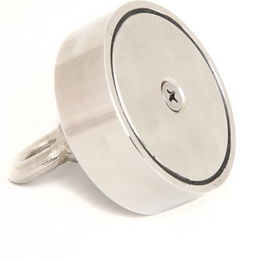 Extreem sterke magneet- Neodymium vismagneet- Magnetar 550kg – Detectieapparaat metaalvissen