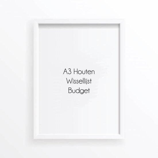 bol.com | A3 Fotolijst Poster Frame DesignClaud - Wissellijst - Wit