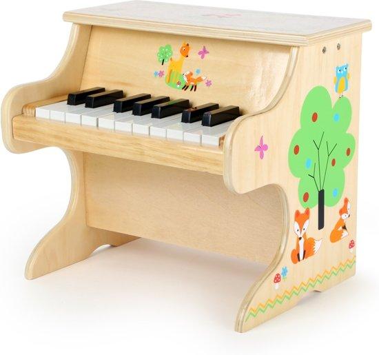 Mooie Houten Piano.Small Foot Houten Piano Vosje 33 Cm