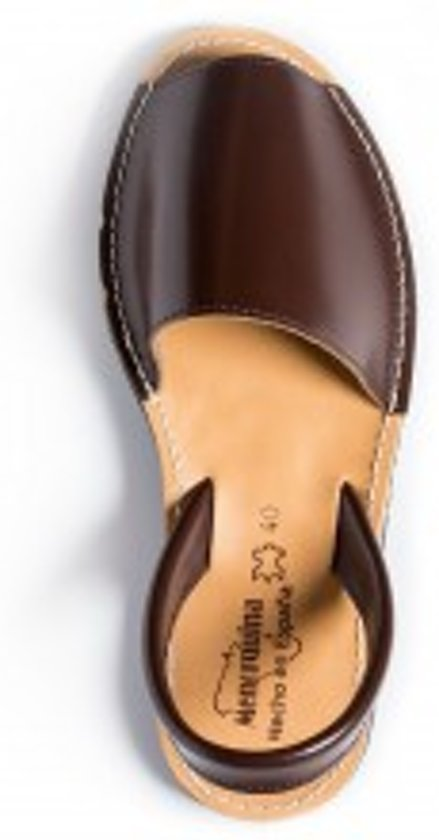 Menorquina-espagnol-sandales Avarca-foncé Femmes-taille 36 MczLq84t