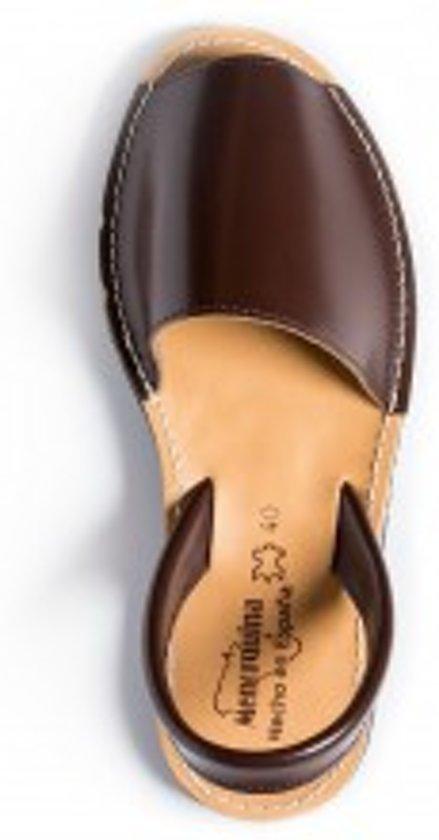Menorquina-espagnol-sandales Avarca-foncé Femmes-taille 36 Go4DkBIc
