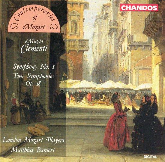 Clementi: Symphony no 1 etc / Bamert, London Mozart Players