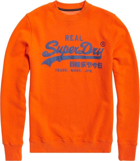 Oranje blauw Xl Superdry Mannen TruiMaat Ibgf76Yvy