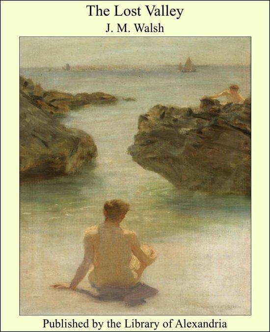 Boek cover The Lost Valley van J. M. Walsh (Onbekend)
