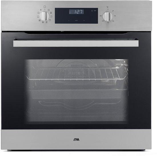 ETNA OM965RVS - Kubieklijn - Inbouw Oven - RVS