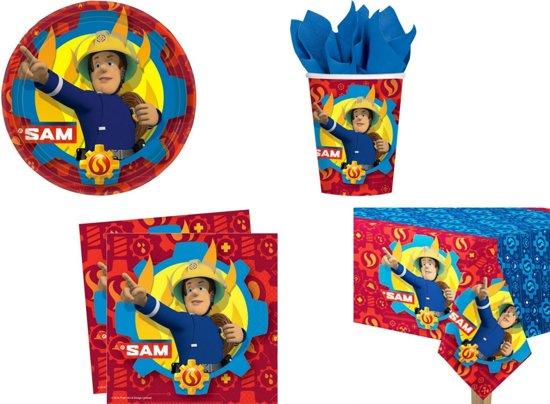 Brandweerman Sam party - verjaardags - feest pakket