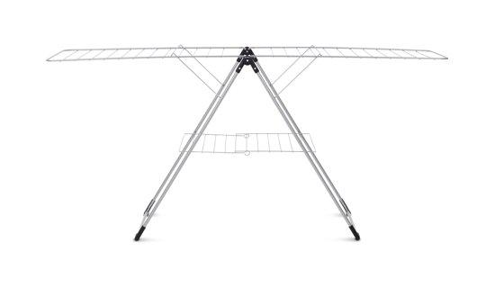 Brabantia Droogrek T-model - 20 m - Metallic Grey