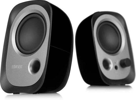 Edifier R12U - 2.0 speakerset / Zwart