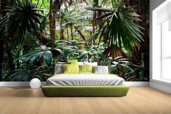 bol.com | Planten in regenwoud Fotobehang 380x265 (Airtex, Naadloos)