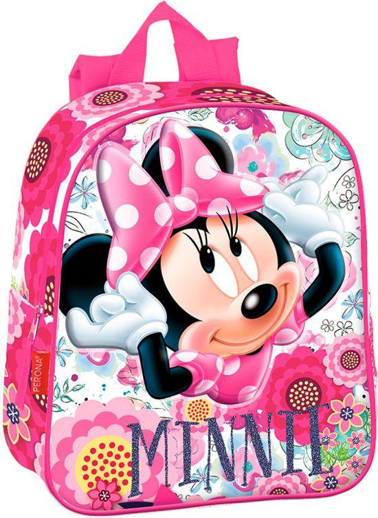 ebb0388aac1 Minnie Mouse 3d rugzak 28 cm met glitter letters / Goede en degelijke  kwaliteit!