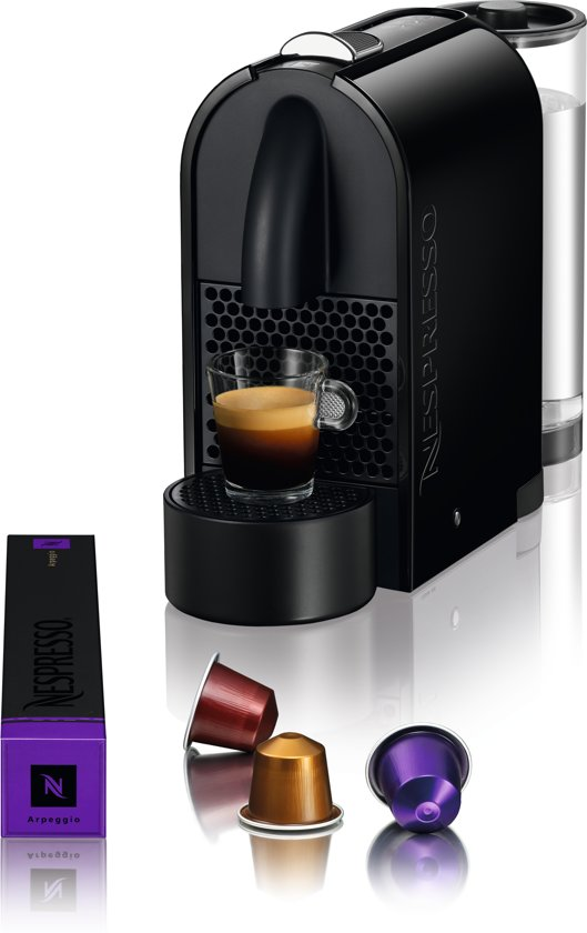 Nespresso Magimix U Pure M130 koffiemachine - Pure Black