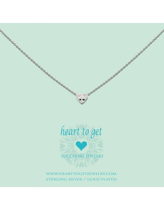 Heart to get Initial, silver, symbol infinity