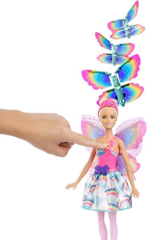 Barbie Dreamtopia Fee met Vliegende Vleugels - Barbiepop