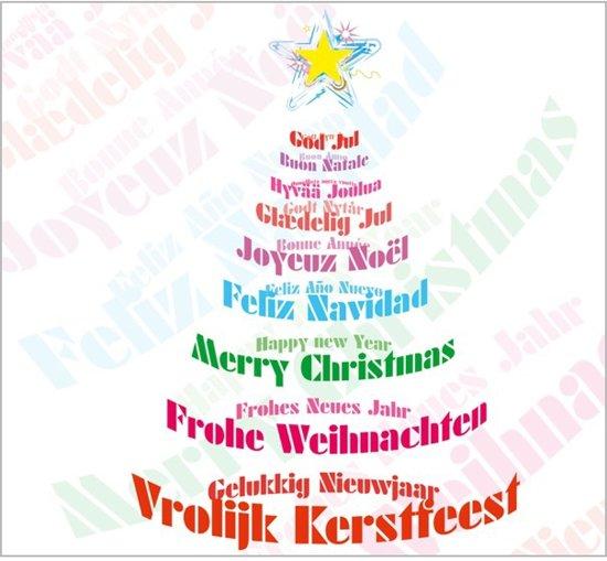 gelukkig kerstfeest in alle talen