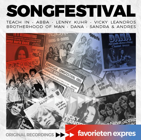 Favorieten Expres - Songfestival Hits