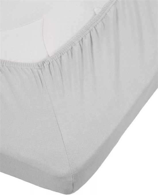 Premium Jersey Lycra Splittopper Hoeslaken Grijs | 160x200 | Perfecte Pasvorm | Duurzame Kwaliteit