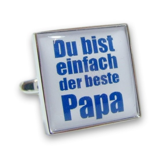 Vaderdag Manchetknopen Der Beste Papa