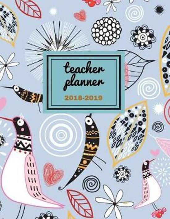 Teacher Planner 2018 - 2019 Mu