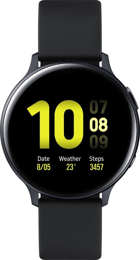 Samsung Galaxy Watch Active2 - Aluminium - 44mm - Zwart