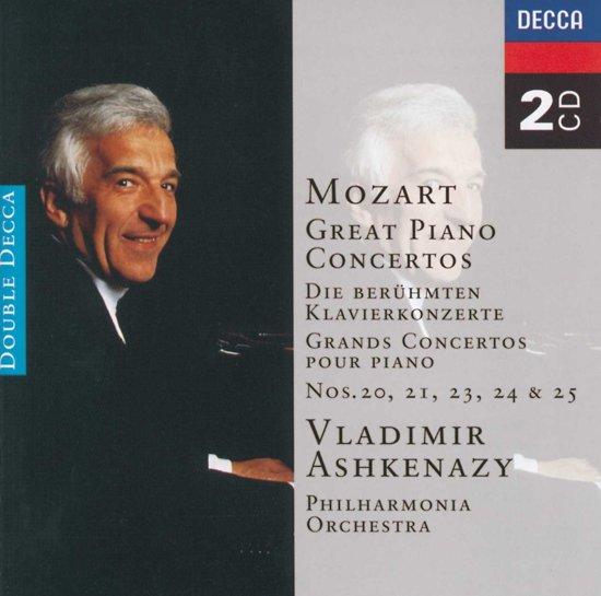 Piano Concerto 21, 23, 24, 25