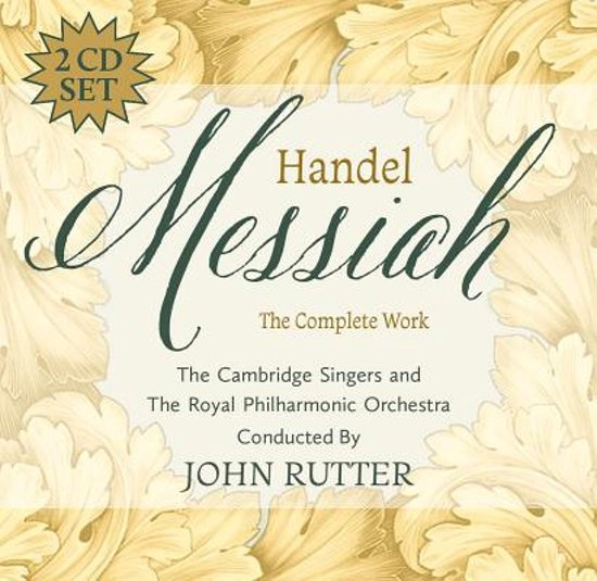 Boek cover Messiah van John Rutter (Onbekend)