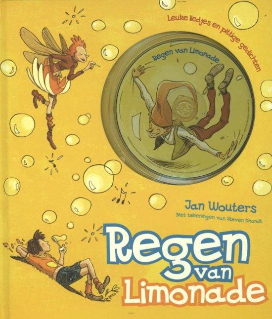 Cover van het boek 'Regen van limonade + cd' van Jan Wouters