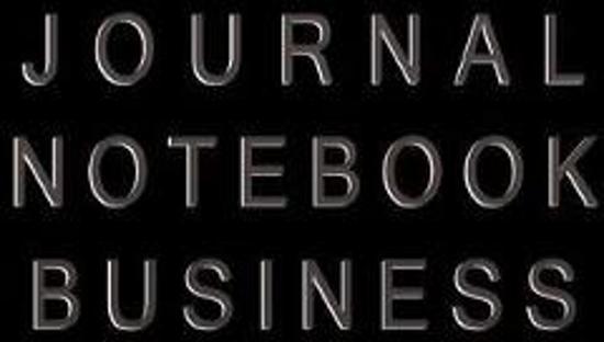 Journal Notebook Business
