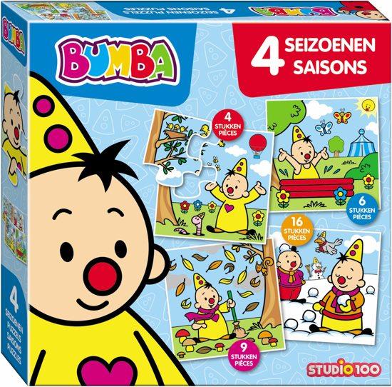Afbeelding van Bumba Puzzel 4 Seizoenen speelgoed