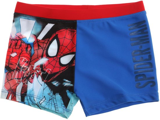 Spiderman Zwembroek.Bol Com Spider Man Zwembroek Blauw Maat 116